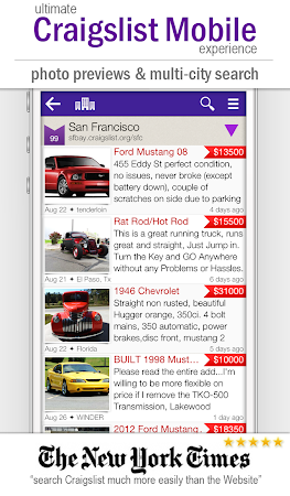 cPro+ Craigslist Mobile Client 3.24 screenshot 550846