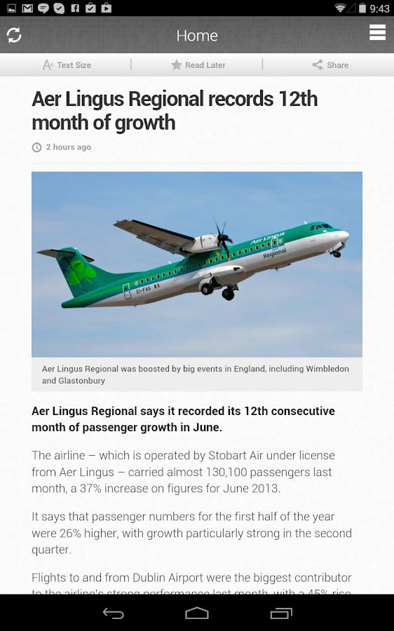RTÉ News Now - screenshot