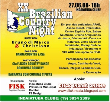 Programe-se: Brazilian Country