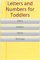 Screenshot of Alphabet for Toddlers