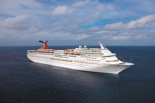 Carnival-Imagination-aerial - Sail on smooth seas to Mexico with Carnival Imagination.