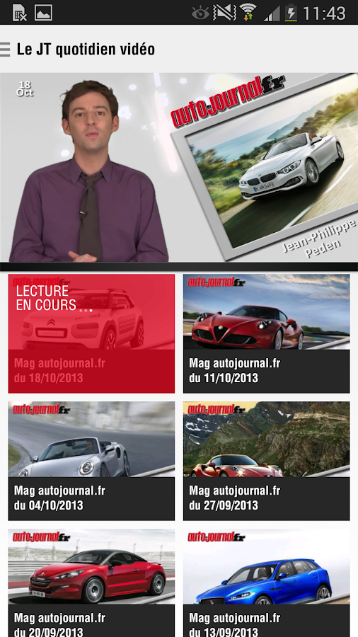 Auto Journal - screenshot