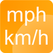 Simple speedometer km/h - mph