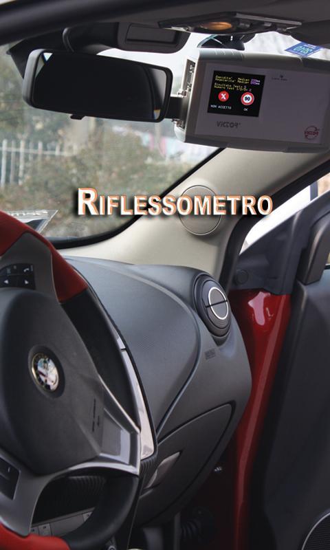 Riflessometro- screenshot