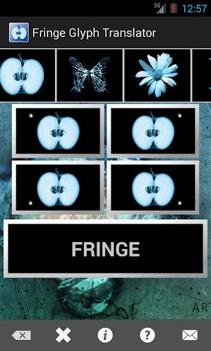 Fringe Glyph Translator