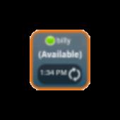 GTalk Status Widget