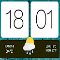 HTC WEATHER  ZOOPER SKIN icon