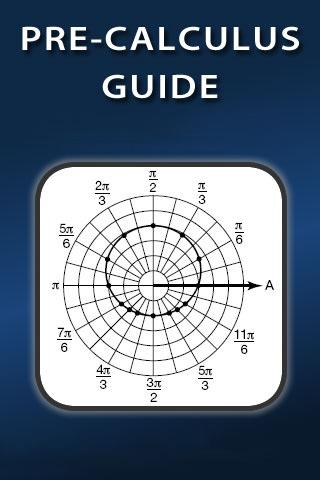 Pre-Calculus Guide- screenshot