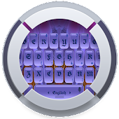 Purple TouchPal Theme