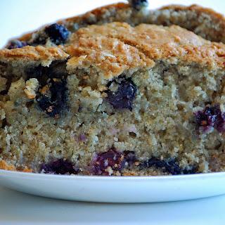 Oatmeal Blueberry Bread.