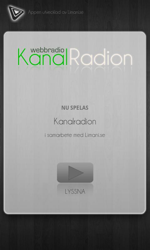 Kanalradion - screenshot