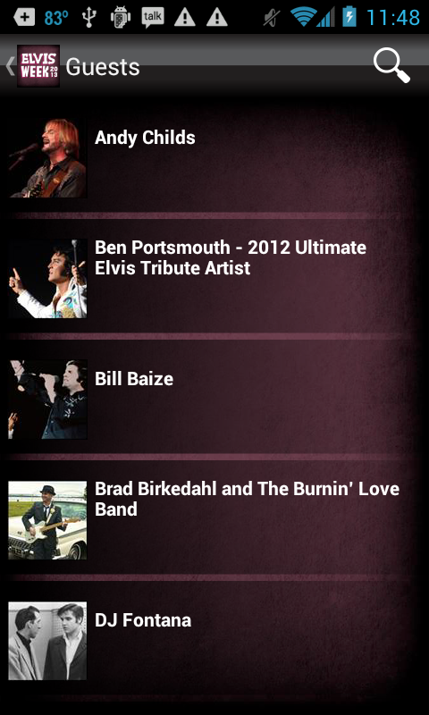 Elvis Week 2013 - screenshot