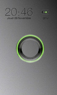 Sense Green Go Locker theme - screenshot thumbnail