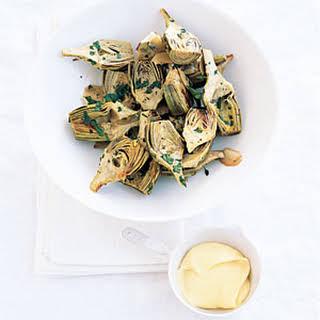 Roast Herb Artichokes.