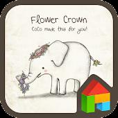 coco(flower crown) dodol theme