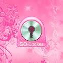 GO Locker flowers pink Buy icon