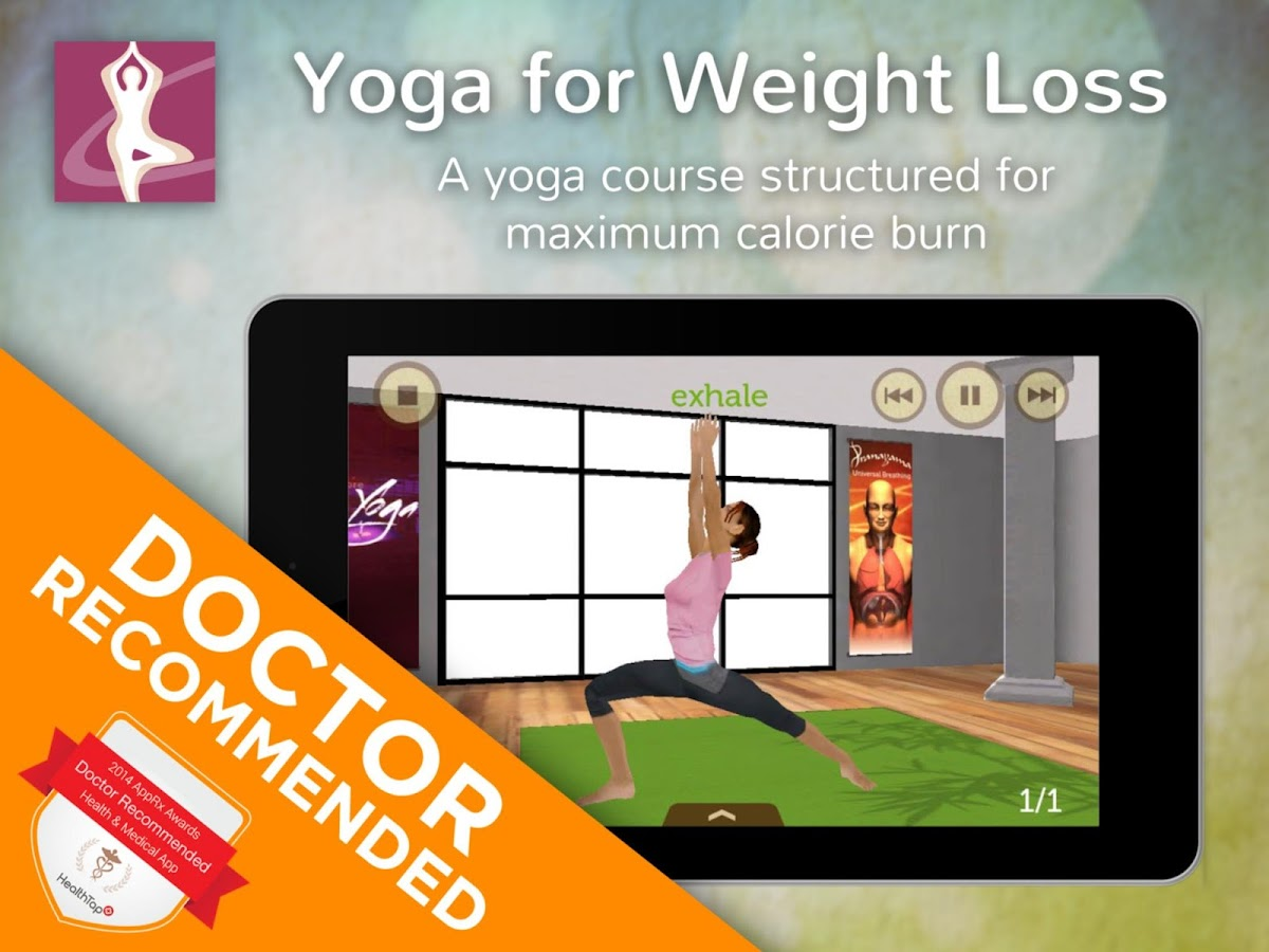 Yoga for Weight Loss- screenshot