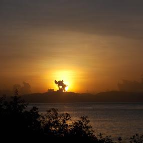 Luwuk Sunrise by Imanuel Monggesang - Landscapes Sunsets & Sunrises