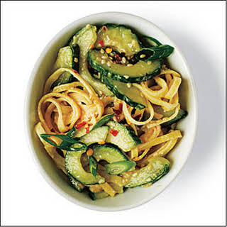 Spicy Pasta Cucumber Salad.