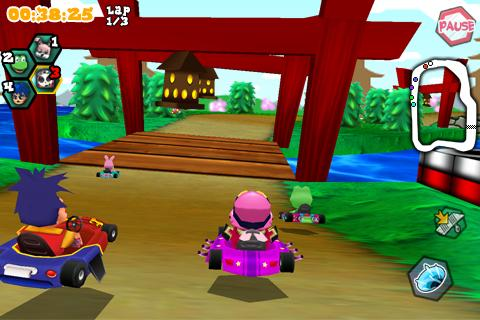 Krazy Kart Racing - screenshot