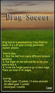 Drag Soccer - screenshot thumbnail