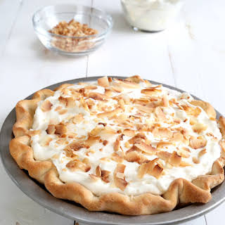 Gluten Free Coconut Cream Pie.