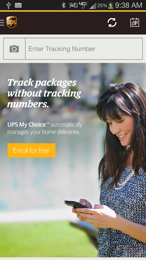 UPS Mobile - screenshot