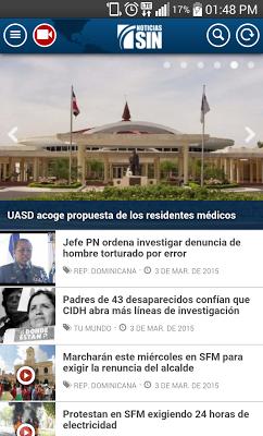 Noticias SIN - screenshot