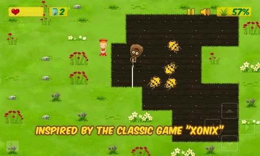 Kids Xonix Game- screenshot thumbnail