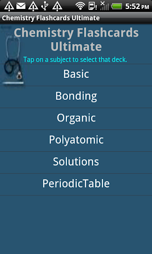 Chemistry Flashcards Ultimate
