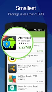 Antivirus Pro—Android Security Screenshot