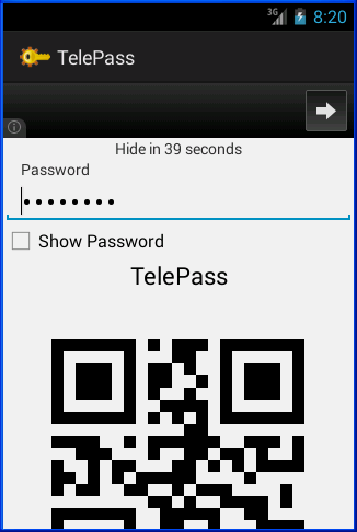 TelePass- screenshot