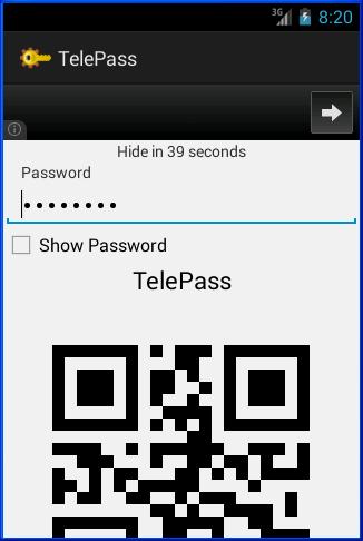 TelePass- screenshot