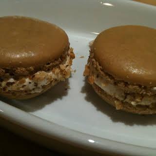 Salted Maple Walnut Macarons.