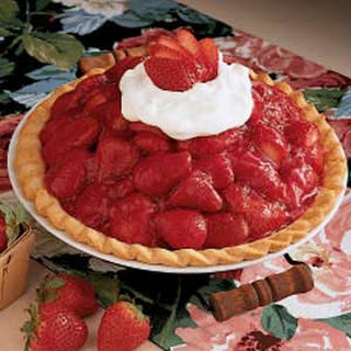 Sky-High Strawberry Pie.
