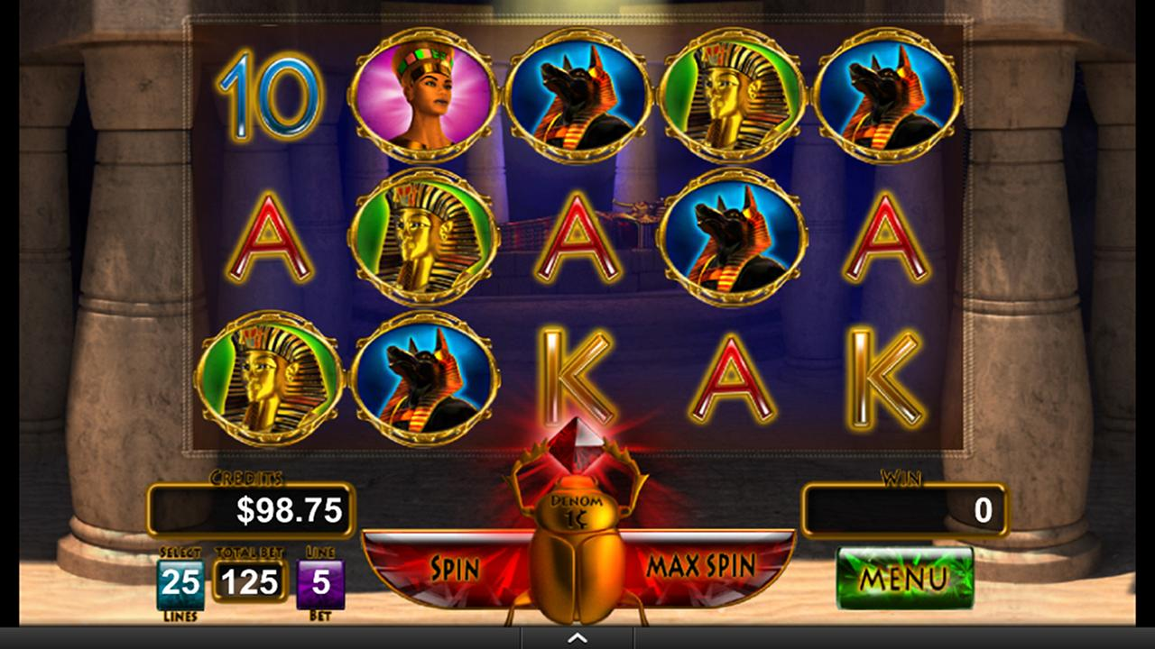 King's Tomb Video Slot Machine- screenshot