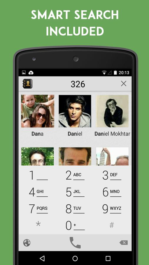 Contacts Dialer (Key/Donation) - screenshot
