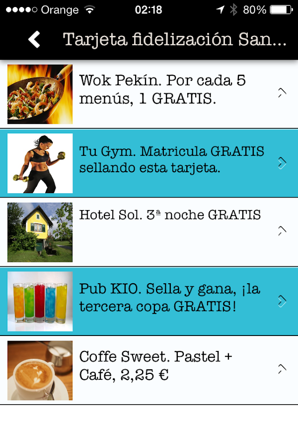COUPONER CANTABRIA - screenshot