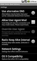 Screenshot of Klink Demo (Red Edition)