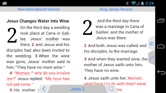 NIV Bible - screenshot thumbnail
