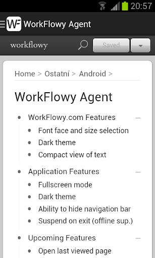 WorkFlowy Agent Pro