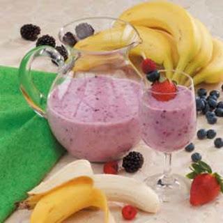Berry Banana Smoothies.