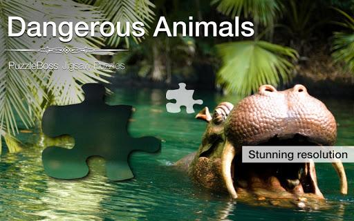 Dangerous Animal Jigsaws