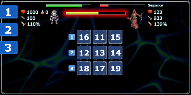 Cognitive Quest: Brain RPG- screenshot