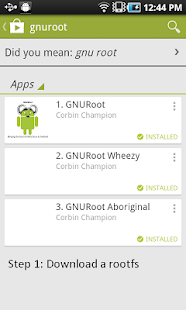 GNURoot - screenshot thumbnail