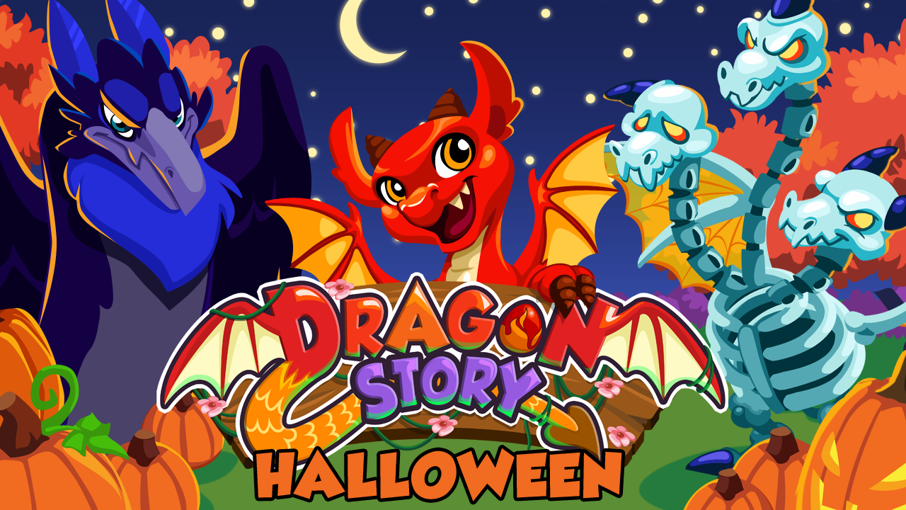 Dragon Story: Halloween - screenshot