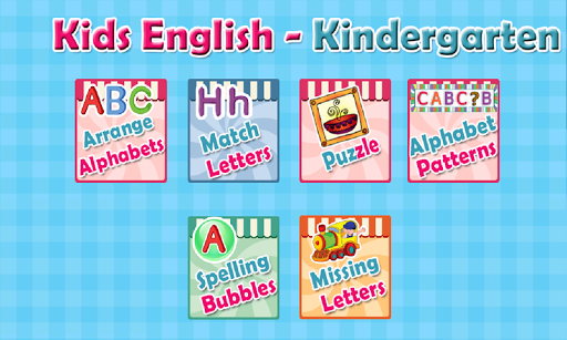 Kids English - Kindergarten