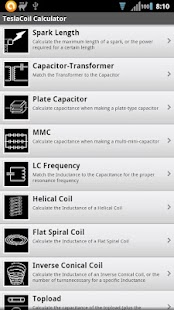 Tesla coil calculator android apps on google play tesla coil calculator screenshot thumbnail keyboard keysfo Images