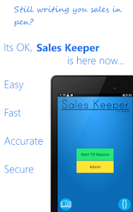Sales Keeper Free Mobile Till screenshot 0