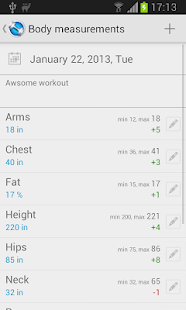 Jucy Workout Gym & Fitness Log - screenshot thumbnail